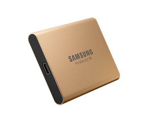 Samsung Portable SSD T5 Gold