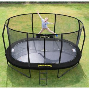 Jumpking havetrampolin Oval