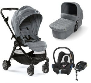 Baby Jogger City Tour Lux Duovogn+ Maxi-Cosi Cabriofix Travel System